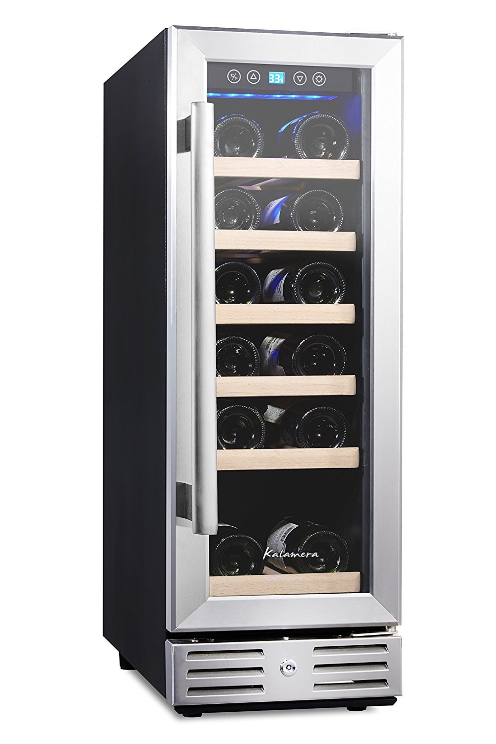 Kalamera 12 inch and 18 bottle wine cooler review