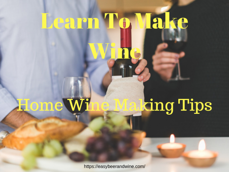 Home Wine Making Tips