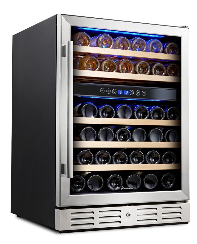 Kalamera 24 inch and 46 bottle wine refrigerator review