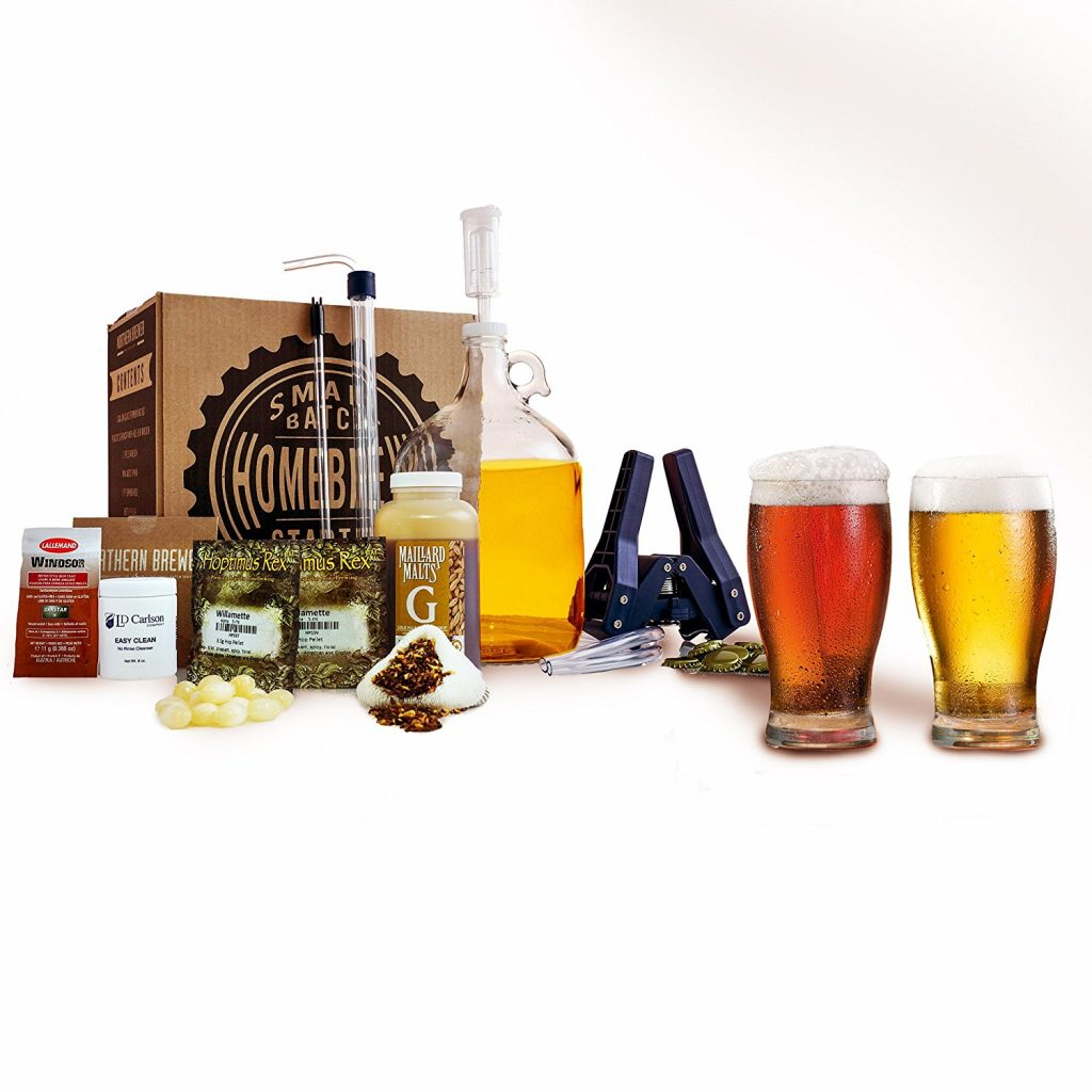 Caribou slobber brwon ale recipe kit review