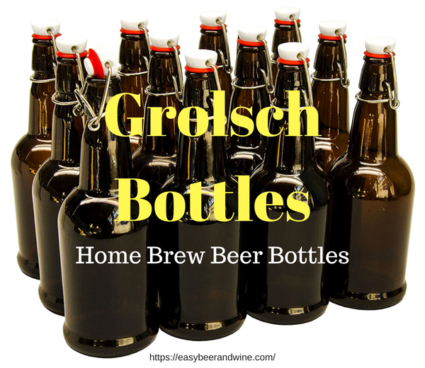 Grolsch beer Bottles for home brewing