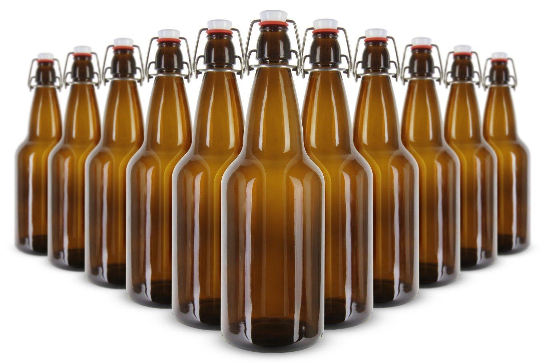 EZ Cap 12 pack 16 OZ grolsch beer bottles