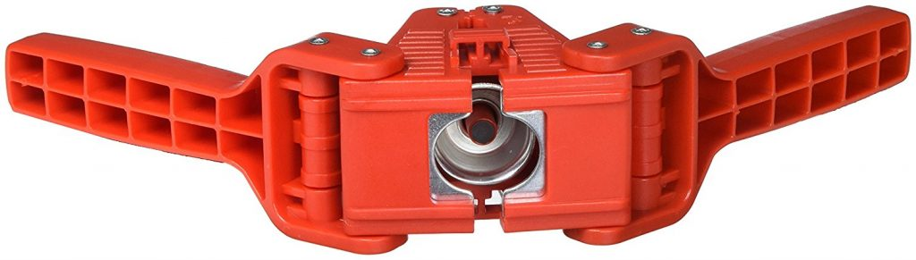 Hand bottle capper tool red baron