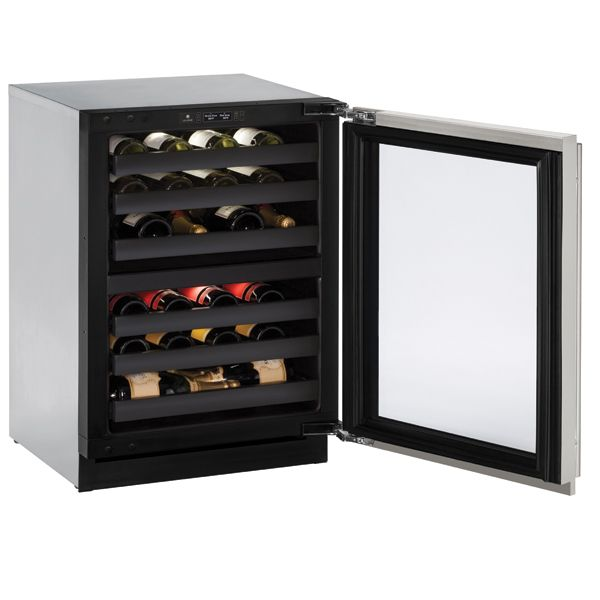 U-line 3000 series dual zone 24' wine refrigerator