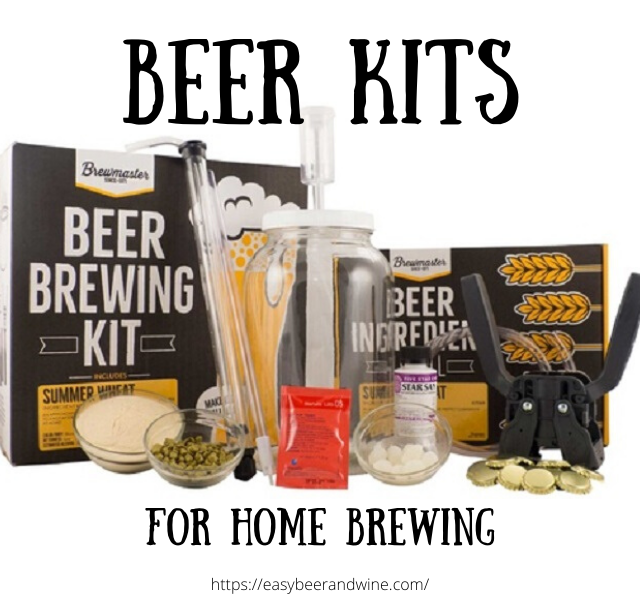 home brew beer kit with all ingredients