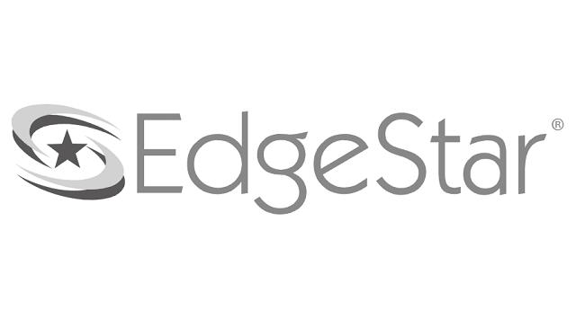 Edgestar dual zone wine refrigerator logo