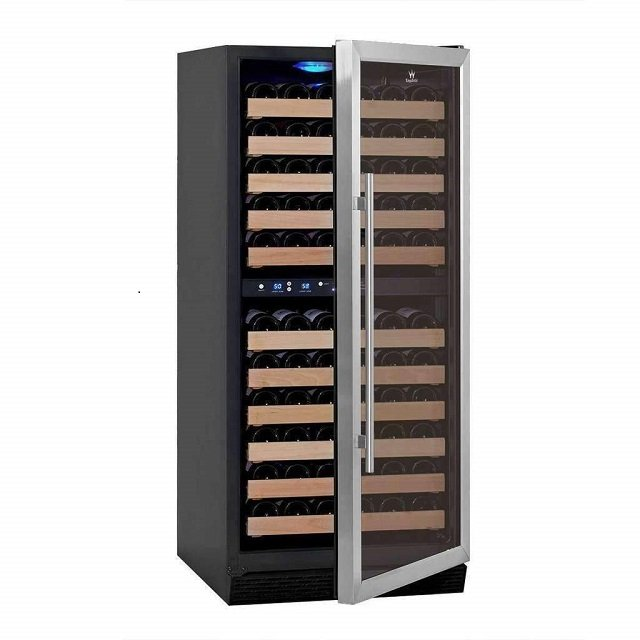 KingsBottle upright 100 bottle wine cooler