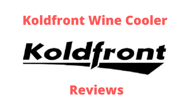koldfront wine cooler logo and picture.